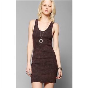 Silence and Noise UO Mineralized Tank Dress